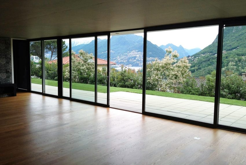 Apartment Lugano lake view