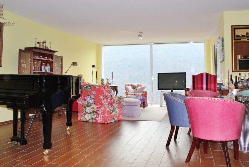 Penthouse with terrace, lake view - Vico Morcote