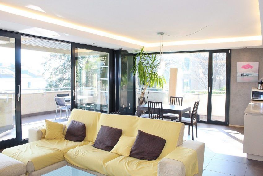 new and modern apartment in Lugano