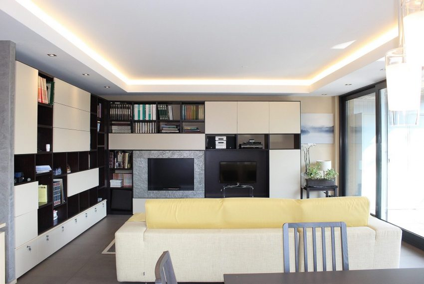 Apartment in Lugano center for sale with terrace