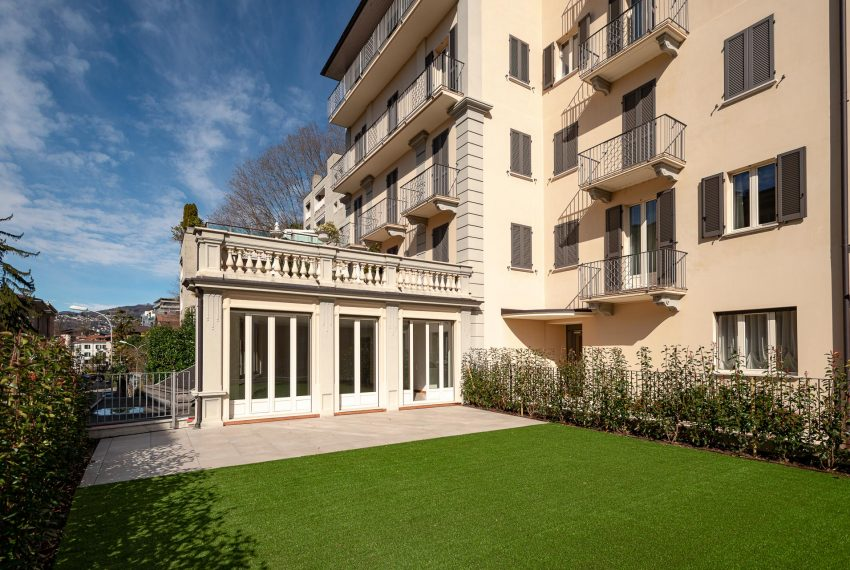 Apartment with private garden for sale in Cassarate